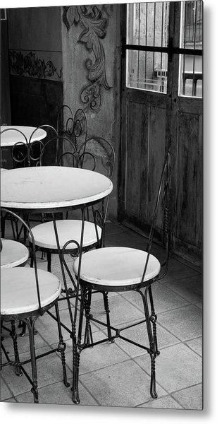 Old Ice Cream Parlor Metal Print