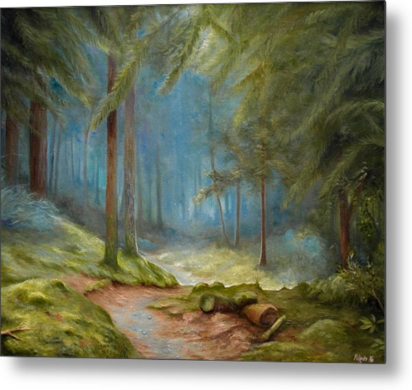 Old Mans Path Metal Print by Mikael Wigen