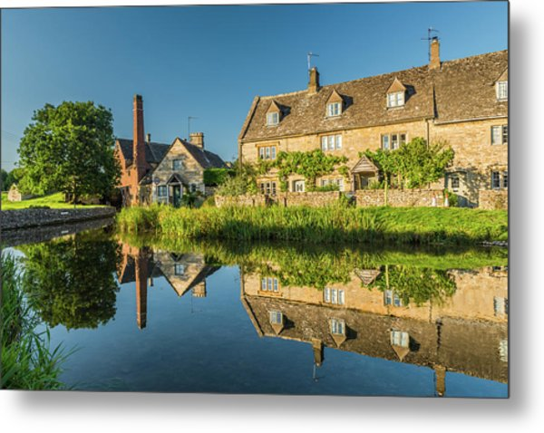 Old Mill, Lower Slaughter, Gloucestershire Metal Print by David Ross