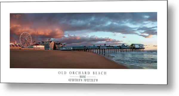 Old Orchard Metal Print by Chad Tracy