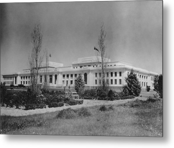 Old Parliament House Metal Print by F. Brooks