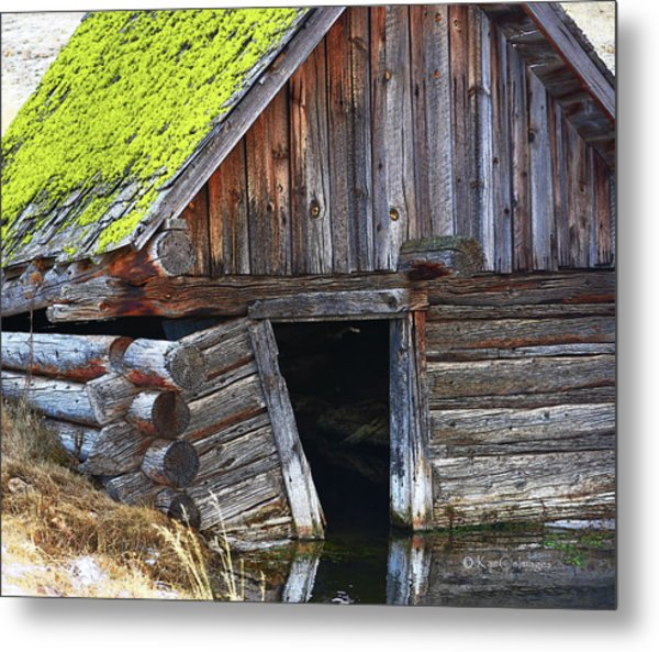 Old Well House #1 Metal Print