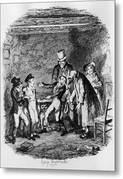Oliver Twist Metal Print by Hulton Archive