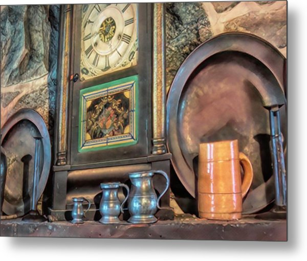 On The Mantle Metal Print