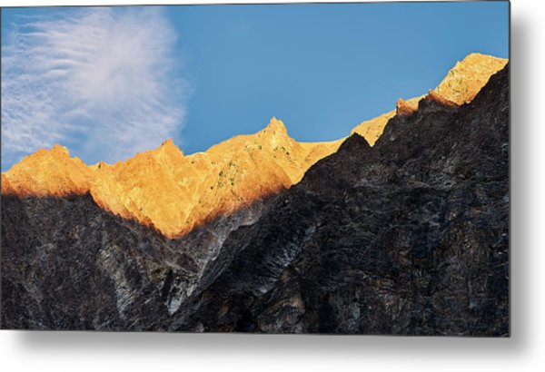 Metal Print featuring the photograph On The Ridge by Whitney Goodey