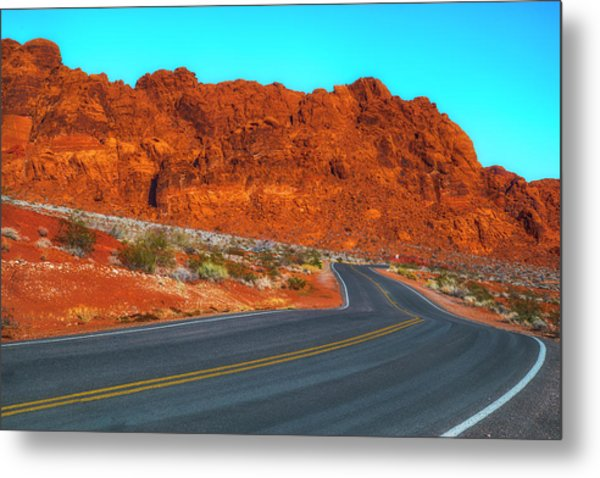 On The Road Again Metal Print by Fernando Margolles