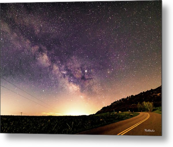 On The Road To The Milky Way Metal Print