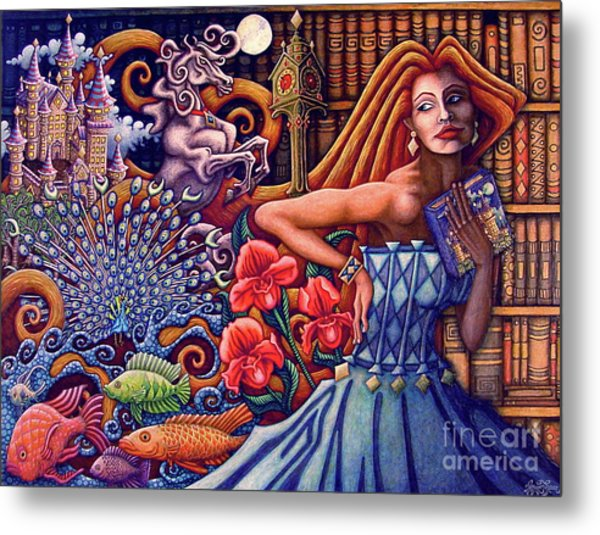 Once Upon A Dream... Metal Print