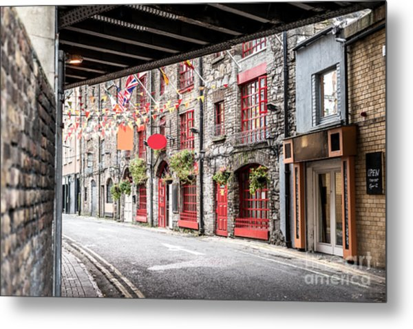 One Beautiful  Street  In Dublin Metal Print by Massimofusaro