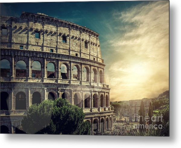 One Of The Most Popular Travel Place In Metal Print