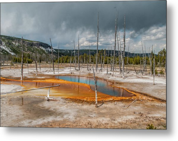 Metal Print featuring the photograph Opalescent Pool by Matthew Irvin