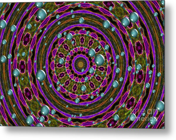 Metal Print featuring the photograph Orbital Alignment by Debbie Stahre