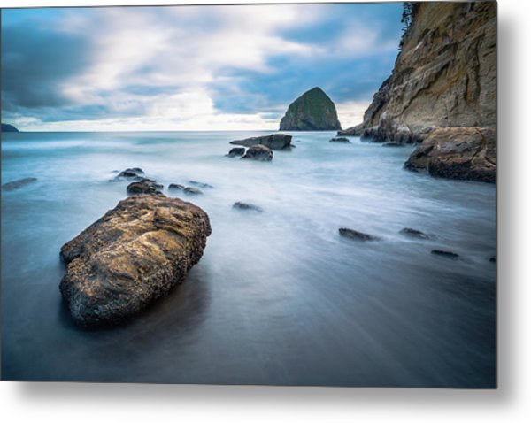 Metal Print featuring the photograph Oregon Coast by Nicole Young