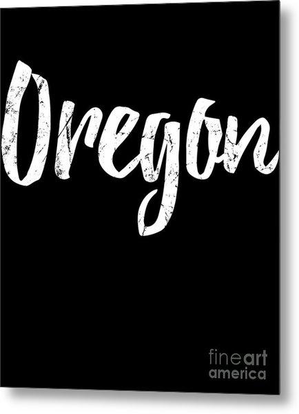 Metal Print featuring the digital art Oregon by Flippin Sweet Gear