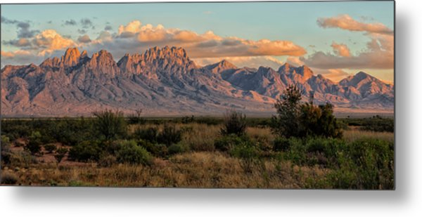 Organ Mountains, Las Cruces, New Mexico Metal Print