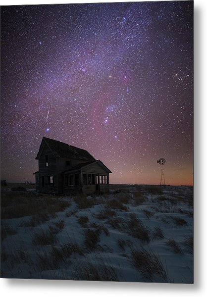 Metal Print featuring the photograph Orion  by Aaron J Groen