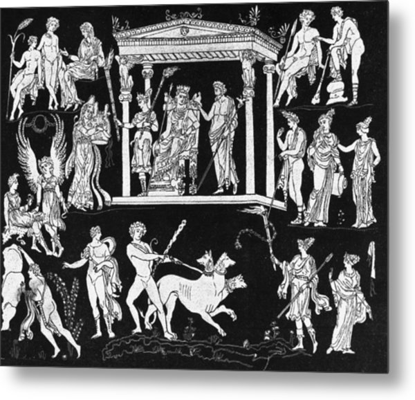 Orpheus And Eurydice Metal Print by Hulton Archive