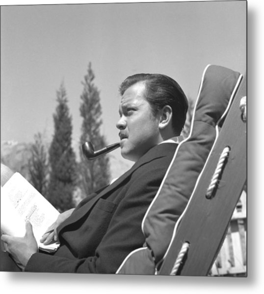 Orson Welles Metal Print by Earl Theisen Collection