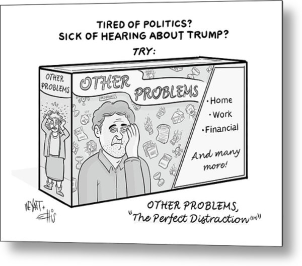Other Problems Metal Print