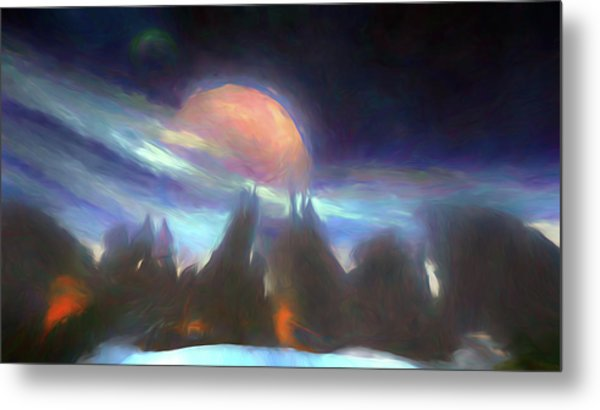 Other Worlds II Metal Print