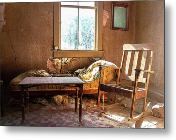 Metal Print featuring the photograph Our Home Of Long Ago by Geoffrey Lewis