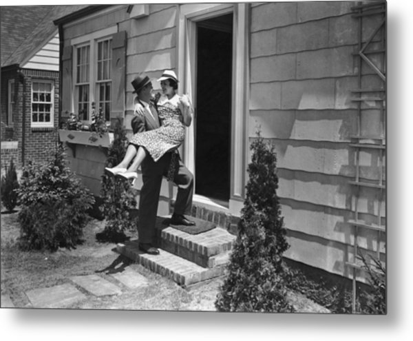 Over The Threshold Metal Print by James W. Welgos