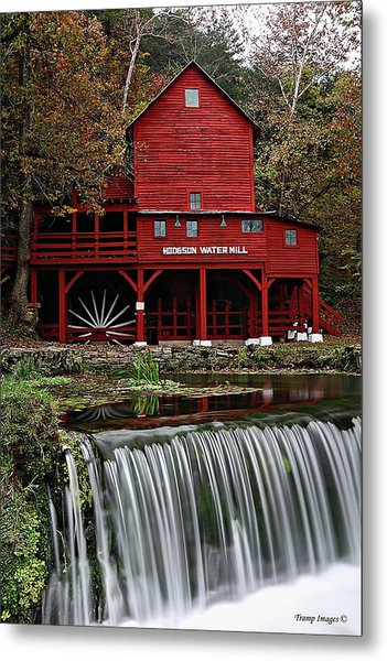 Ozarks Mill Metal Print