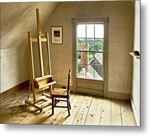 Painters Loft Metal Print