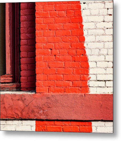 Painting The Town Red Number 1 Metal Print