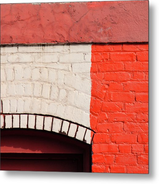 Painting The Town Red Number 2 Metal Print