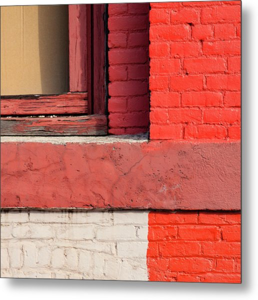 Painting The Town Red Number 3 Metal Print