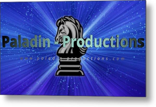 Paladin Productions Logo Metal Print