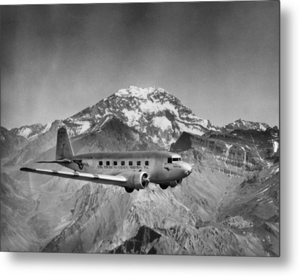 Pan Am Grace Metal Print by Hulton Archive