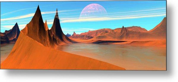 Panoramic View. Desert Spires Metal Print