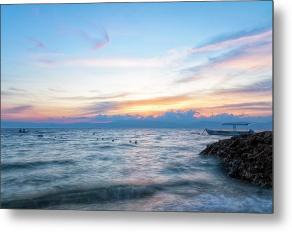 Paradise Beauty Metal Print