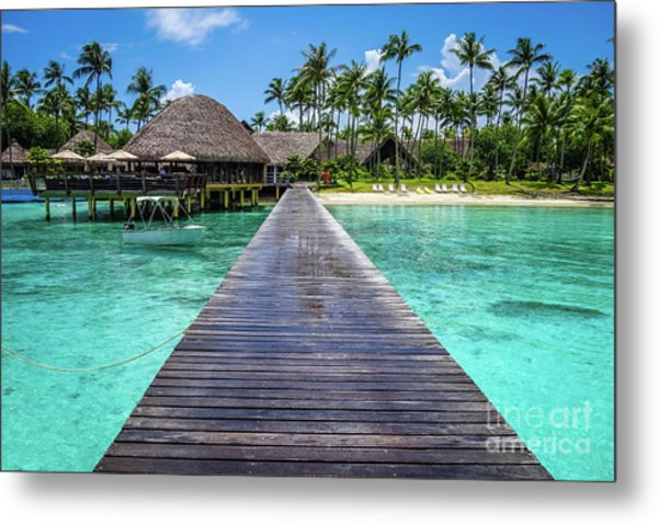 Rangiroa, Tuamotu - Paradise On Earth Metal Print