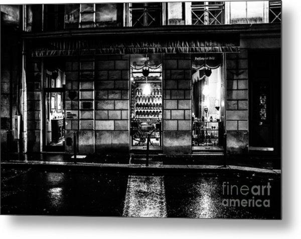 Paris At Night - Rue Bonaparte 2 Metal Print