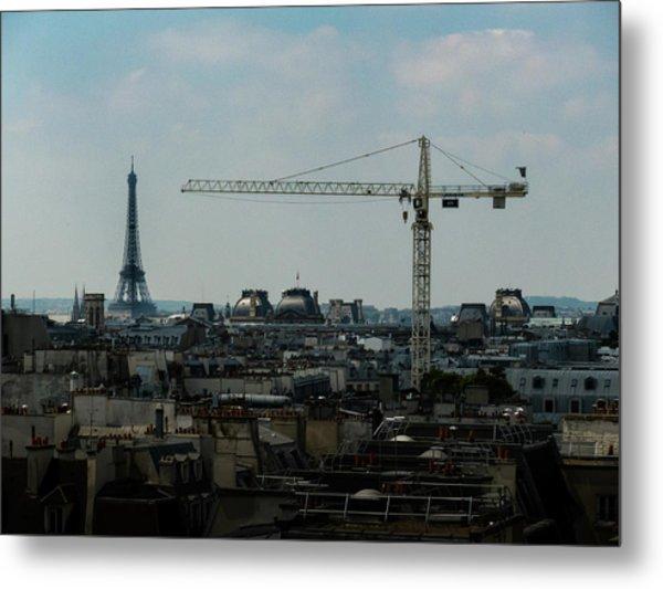 Paris Towers Metal Print