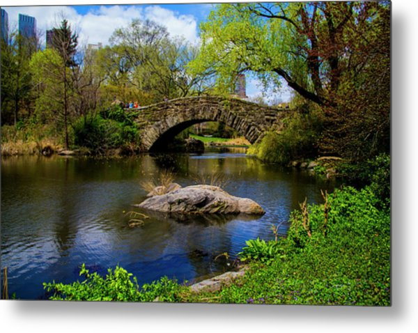 Park Bridge2 Metal Print