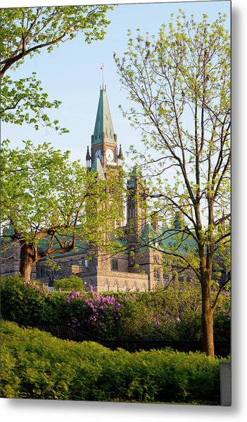 Parliament Buildings Metal Print