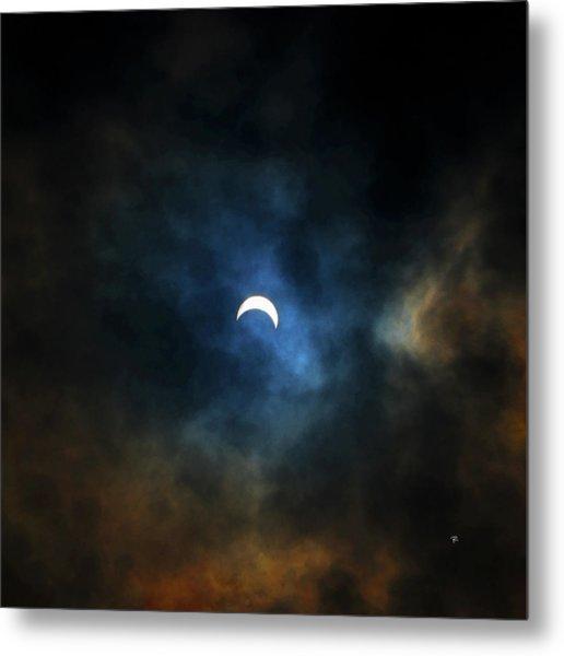 Partial Eclipse Metal Print