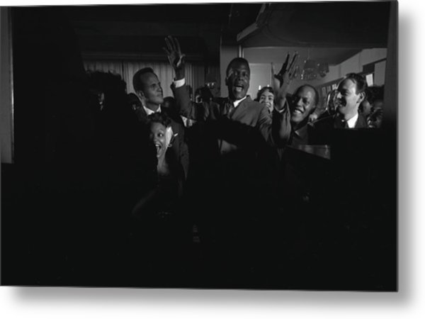 Party For Raisin In The Sun Metal Print