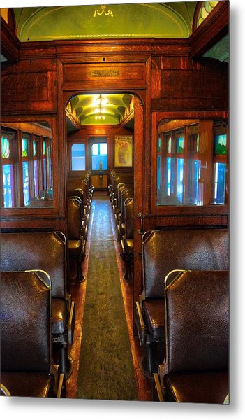 Passenger Train Memories Metal Print