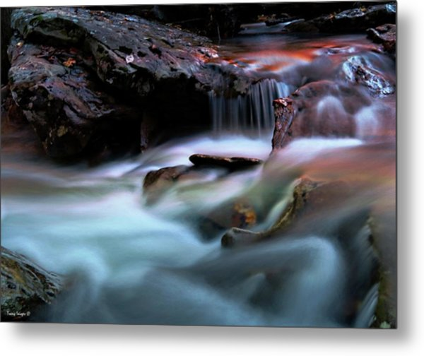 Passion Of Water Metal Print