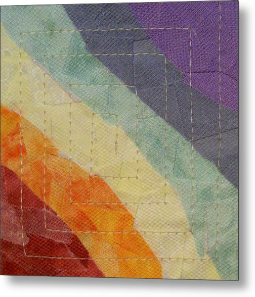 Pastel Color Study Metal Print