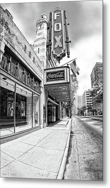 Peachtree Street And The Fox Theatre - Atlanta Metal Print