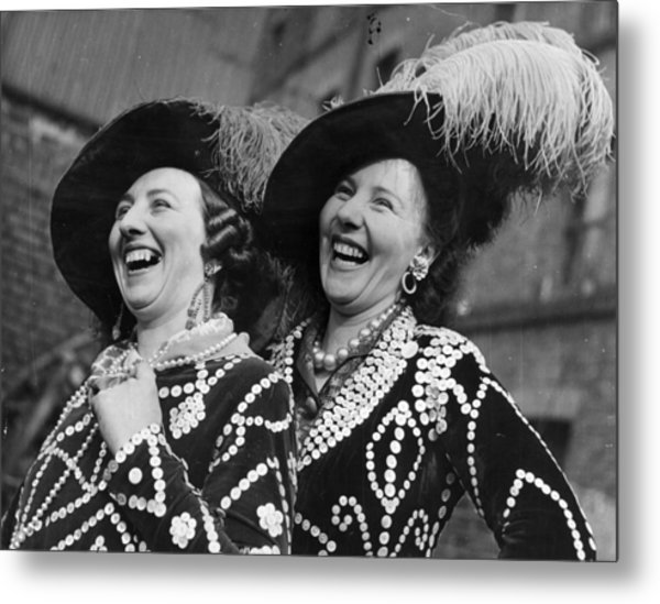 Pearly Queens Metal Print