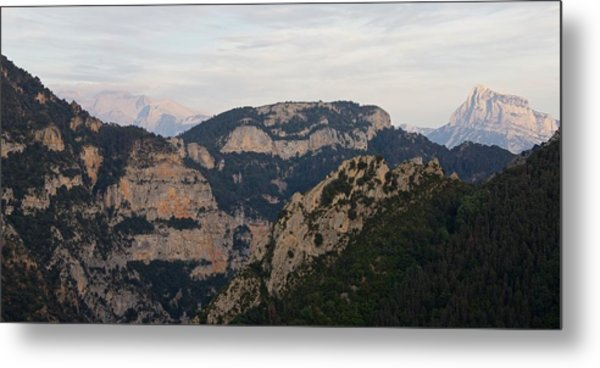 Metal Print featuring the photograph Pena Montanesa  by Stephen Taylor