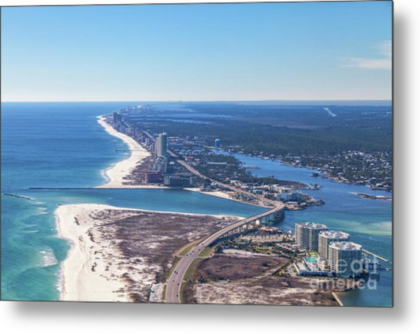 Perdido Pass Bridge Metal Print