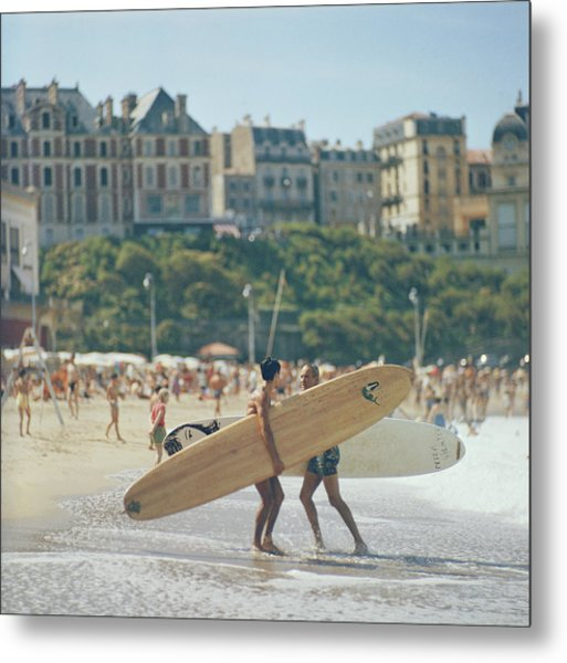 Peter Viertel Metal Print by Slim Aarons